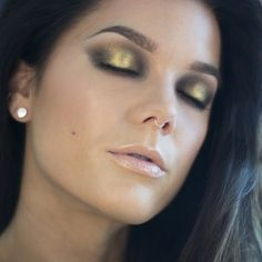 Smokey Gold look By:Linda Hallberg