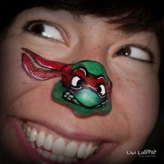 41 Facepainting Ninja Turtles Ideas Face Painting Face Painting Designs Kids Face Paint