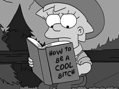 Image uploaded by Sao Paolo. Find images and videos about black and white, the simpsons and lisa simpson on We Heart It - the app to get lost in what you love. Lisa Simpson, Simpson Wave, Theme Animation, Retro, The Simpsons, Simpsons Meme, Simpsons Quotes, Mood Pics, Girl Humor