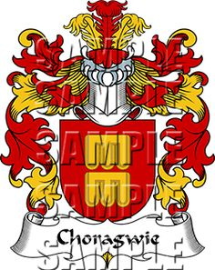 Choragwie Family Crest apparel, Choragwie Coat of Arms gifts