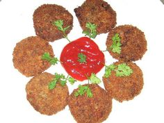 Chicken Cutlet    Know more:  http://hyderabadcateringservices.com
