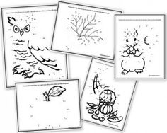 Thanksgiving-themed worksheets for writing and drawing!