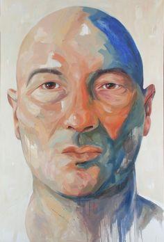 Art, Portrait. Oil on Canvas. Arte, Retrato. Ainhoa Azumendi