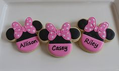 Minnie Mouse Cookie Favors | Flickr - Photo Sharing!