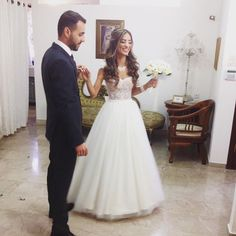 Our little princess! #congradulations #wedding #lace #joy #theperfectmoment #perfection #cinderella
