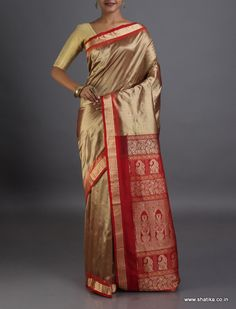 Leela Earthen Pick #SambalpuriSilkSaree