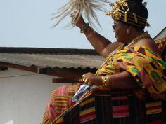 Queen mother in palanquin