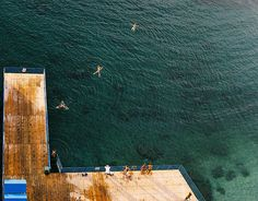 Sorrento from Above | Swimmers in Sorrento, Italy. | Joe Curtin | Flickr