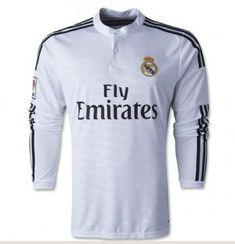 14-15 Real Madrid Football Shirt Cheap Long Sleeve Home Replica Jersey  14-15 Real Madrid Football Shirt Cheap Long Sleeve Home SOCCER  jerseys c956927e7a