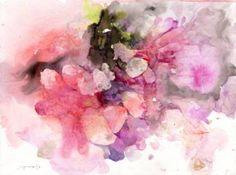 "Saatchi Art Artist Supmanee Chai; Painting, ""secret pink"" #art"