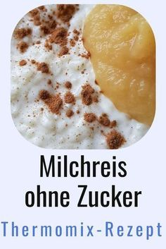 Im Thermomix zuckerfreien Milchreis selber machen ist super-einfach! Mein Rezept… Making sugar-free rice pudding in the Thermomix is ​​super-easy! My recipe also tastes good to the kids. And of rice pudding without sugar you can also eat a plate more … Rice Recipes, Baby Food Recipes, Food Network Recipes, My Recipes, Soup Recipes, Healthy Baking, Healthy Desserts, Healthy Recipes, Sugar Free Rice