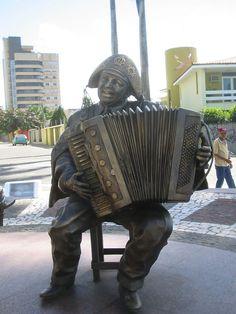 """* Luiz Gonzaga * """"O Rei do Baião"""". Campina Grande, Paraíba. Brasil."""