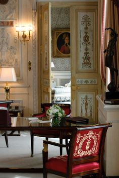 Impérial Suite,  the Ritz Hotel, 15 Place Vendôme, Paris I