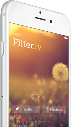 "Filter.ly ""scans the internet to find and deliver the most important information right to your screen."""