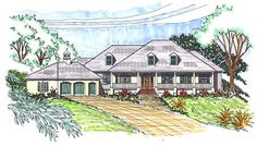 French style home plan! Full set of plans for $2,496.50