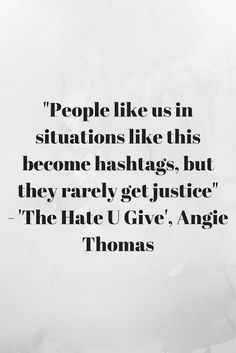 Review of 'The Hate U Give' by Angie Thomas