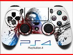 Destiny Hunter PS4 Controller Skin Wrap Sticker Playstation 4 Skin Destiny Skin The Taken King Skin