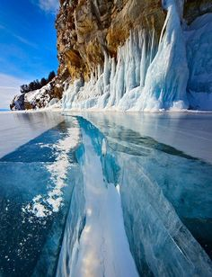 lago Baikal in Russia Lago Baikal, Beautiful Places In The World, Places Around The World, Amazing Places, Amazing Things, Wonderful Places, Lake Baikal Russia, Places To Travel, Places To See