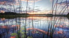 Clouds lakes hdr photography flora reflections wallpaper | (21893)