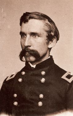 General Joshua L. Chamberlain winner of the Congressional Medal of honour at Gettysburg.