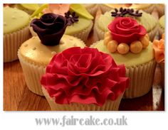 Student's cupcakes, Boutique Cupcakes Class by Fair Cake, via Flickr