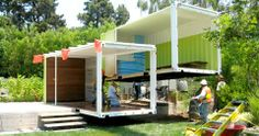 Shipping Container Homes- under construction