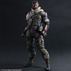 NEW hot 28cm Metal Gear Solid V The Phantom Venom Snake collectors action figure toys Christmas gift doll baojzhan