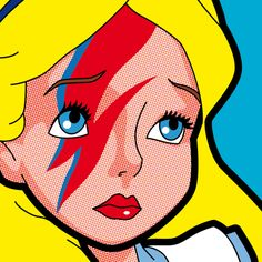 WonderARTland #1, Pop Icon by Grégoire Guillemin - #aliceinwonderland - disney