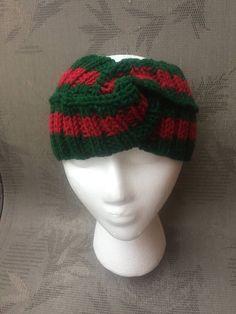 929091dc424 Gucci headband style dark red green