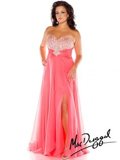 Style 64757F - Plus Size Prom Dress