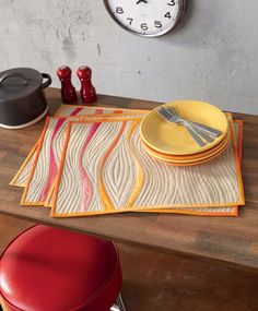 I'm excited to share another project from my new book Improvising Tradition. The Ribbons Placemats are found in the Slice and Insert section of the book.  This pattern shows you both how to cut and se