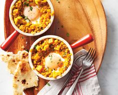 Hearty Red Lentil Curry with Eggs