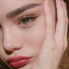 Wimpern Make-up - Christmas Deesserts Aesthetic Makeup, Aesthetic Girl, Beauty Make-up, Hair Beauty, Beauty Dupes, Maquillaje Natural Tumblr, Makeup Inspo, Makeup Inspiration, Makeup Ideas