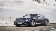 4 meters of snow & brand new Bentley Continental GT