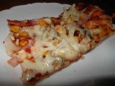 Domáca rýchla pizza , Slané ..., recept | Naničmama.sk