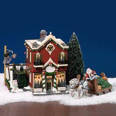 Dept 56 Snow Village ~ Silver Bells Christmas Shop ~ Mint In Box 55040