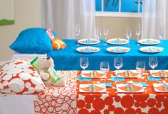 Bedtime Story Party or Baby Shower! Such a fun idea! And you can set up & register with a wishlist of children's books at www.barefootbabywishes.wordpress.com
