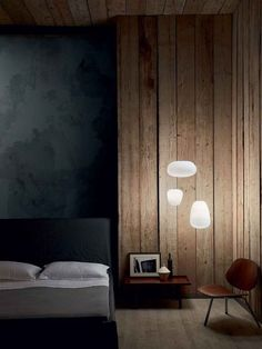 Stylish modern bedroom. For solid wood beds and beautiful bed line take a look at: http://www.naturalbedcompany.co.uk