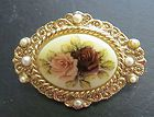 Vintage 1928 Rose & Pearl Broach / Pin -     $  8.99End Date: Saturday Feb-15-2014 22:50:52 PSTBuy It Now for only: $  8.99Buy It Now | Add to watch list    View More 1928 Pins:                         Vintage 1928 Co Lime teal green rhinestone Tropical TOUCAN Bird gold PIN brooch       Price: $7.99  See Details          ...
