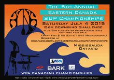 5th Annual Eastern Canada SUP Championships