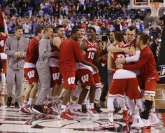 From JSO Photo Gallery: Wisconsin 71, Kentucky 64 Badgers go the championship game!
