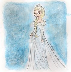 Elsa Disney Frozen Wallpaper