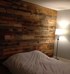 Accent Wall Paneling - Idaho Barn Wood Blend | Reclaimed Lumber Products