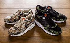 "Nike Air max 1 Animal camo Pack ""atmos""  スニーカーシーンに一石を投じるエアマックス1"