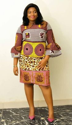 Hello here are some ankara styles that will make you look good on any occasion you attend. They come in different designs and will give you that awesome look you need. African Dresses For Kids, African Fashion Ankara, Latest African Fashion Dresses, African Dresses For Women, African Print Fashion, African Attire, Women's Fashion Dresses, Ankara Short Gown Styles, Ankara Gowns