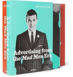 Taschen Mid-Century Ads: Advertising from the Mad Men Era Hardcover Book by Steven Heller and Jim Heimann  | MR PORTER