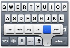 Secret iPhone, iPad and iPod Touch Keyboard Shortcut Tips