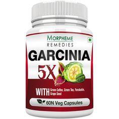 Morpheme Garcinia 5X (Garcinia, Green Coffee, Green Tea, Forskolin, Grape Seed) 60 VegCaps - The biggest Health and Beauty Products screw ups of all time