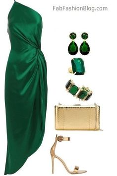 Birthday dress women classy shoes 32 New Ideas Mode Outfits, Night Outfits, Classy Outfits, Dress Outfits, Fashion Dresses, Classy Dress, Party Outfits, Green Dress Outfit, Chic Dress