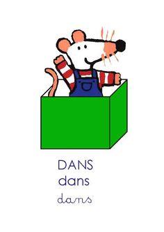 """Se repérer dans l'espace : la position """"dans"""" ou """"intérieur"""" French Teaching Resources, Teaching French, Maisy Mouse, Math Projects, Fun Math, Kids Education, Activities For Kids, Positivity, School"""